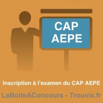 Inscription CAP AEPE