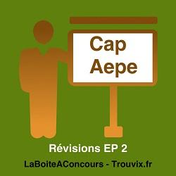Révisions EP2 CAP AEPE