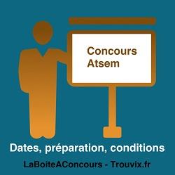concours atsem dates préparation conditions
