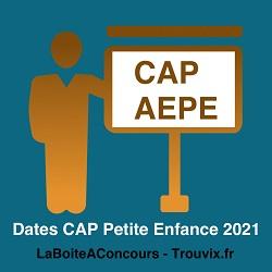 dates cap petite enfance 2021