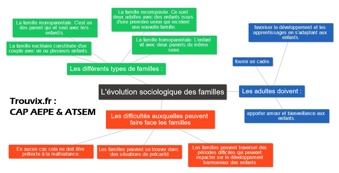evolution sociologique des familles