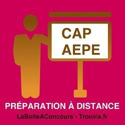Préparation CAP AEPE A Distance