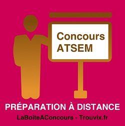 Préparation Concours Atsem à Distance