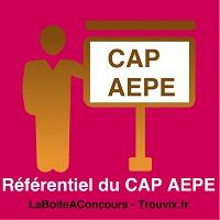 Référentiel du CAP AEPE