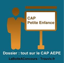 Dossier Cap Petite enfance AEPE