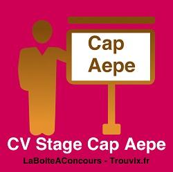 CV Stage CAP AEPE