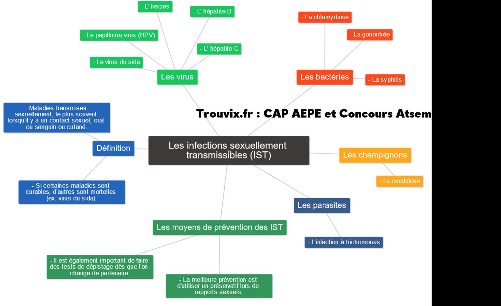 Infections sexuellement transmissibles - IST